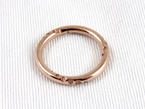 Orbit - Precious Metals in 14k Rose Gold Plated: 5.5 / 50.25