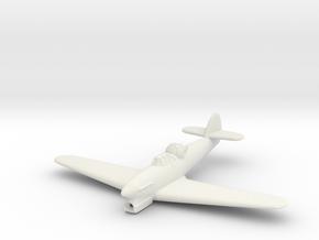 1/200 Hawker Hotspur in White Natural Versatile Plastic