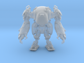MECHA 40mm in Smooth Fine Detail Plastic