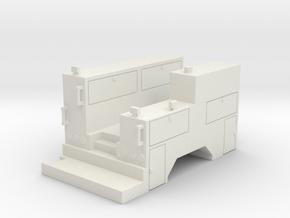 Maintenance Truck 1-87 HO Scale NO Crane  in White Natural Versatile Plastic
