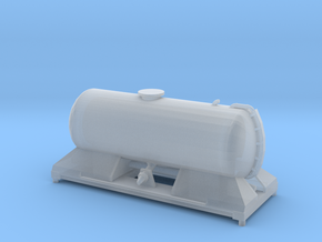 FEA-F Spine Wagon Mounted Tank Module for N Gauge, in Smooth Fine Detail Plastic