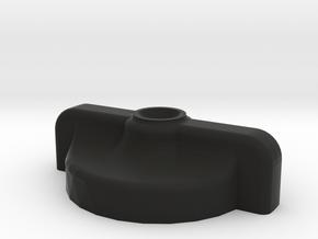 RockShox Suspension Fork Travel Adjust Knob in Black Natural Versatile Plastic