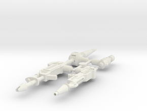 CW Weapon Pack 1 in White Strong & Flexible