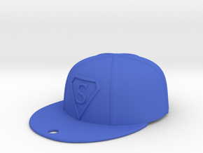 Baseball Cap in Blue Processed Versatile Plastic