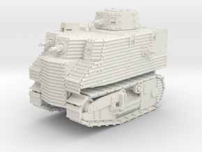 Bob Semple Tank (15mm) in White Natural Versatile Plastic