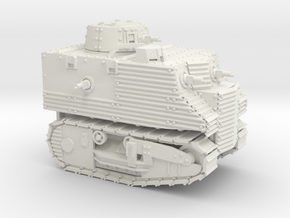 Bob Semple Tank (20mm) in White Strong & Flexible