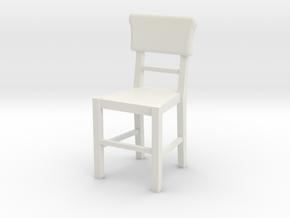Basic Chair  in White Natural Versatile Plastic