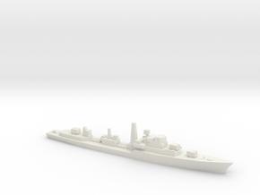 Daring-Class Destroyer, 1/1800 in White Natural Versatile Plastic