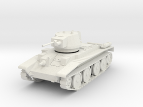 PV113A 10TP Cruiser Tank (28mm) in White Natural Versatile Plastic