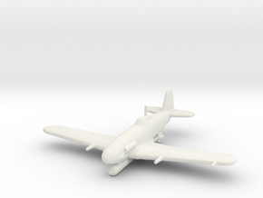 Fiat G.55/S 'Silurante' (with Torpedo) in White Strong & Flexible: 1:200