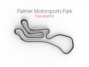 Palmer Motorsports Park | Small in Full Color Sandstone