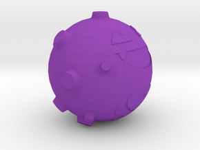 Koffing in Purple Processed Versatile Plastic