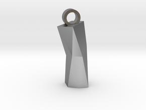 Obelisk2 in Natural Silver