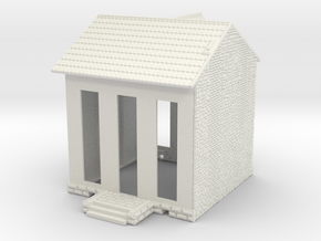 NVPP02 - Suburban house in White Natural Versatile Plastic