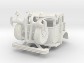 Crown Cab 1/64 in White Natural Versatile Plastic