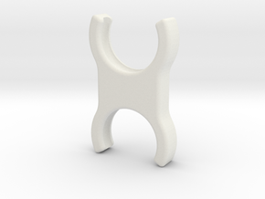 Roman-shade-clip in White Natural Versatile Plastic