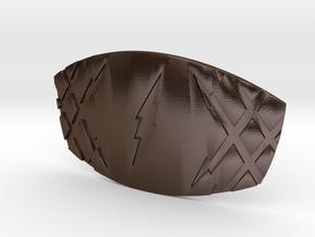 THE FLASH - Jay Garrick Belt Buckle in Polished Bronze Steel