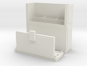 Minecraft Chest Satchel in White Natural Versatile Plastic
