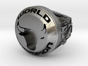 CHAMPION  Ring  Bulls.23 in Natural Silver