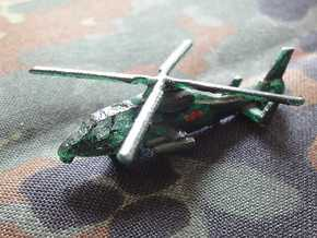 1/300 Chinese WZ-10 Attack Helicopter in Smooth Fine Detail Plastic