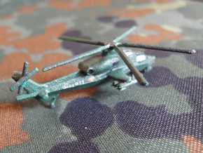 1/300 Chinese WZ-10 Attack Helicopter in White Strong & Flexible