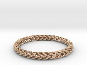 Circular Bracelet in 14k Rose Gold