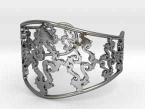 Julia Cuff in Polished Silver