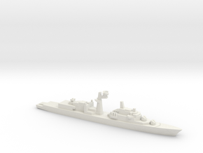 Tourville-class frigate, 1/2400 in White Natural Versatile Plastic