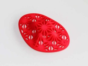 """Asanoha"", Self-Massage Tool in Red Processed Versatile Plastic"