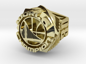 Curry Championship Ring  in 18k Gold