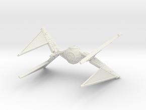 Tie Hunter for X-wing TMG 1/270 in White Natural Versatile Plastic
