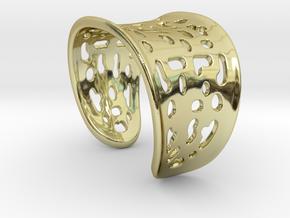 Summer Bracelet in 18k Gold Plated Brass