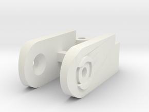 Arcadia VF0 Shoulder Hinge in White Natural Versatile Plastic