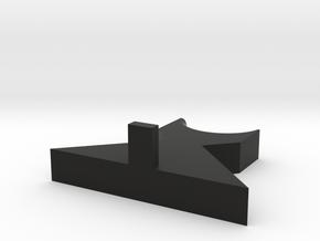Rifle Barrel Stand in Black Natural Versatile Plastic