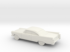 1/87 1957 Dodge Royal Coupe in White Strong & Flexible