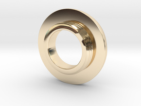 Ag Torch: Brass Tail Ring (4 of 4) in 14K Yellow Gold