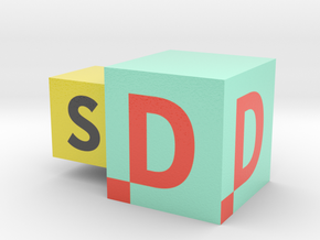 LogoSD in Coated Full Color Sandstone