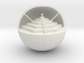 Orb Of Society in White Natural Versatile Plastic