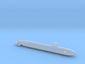 Los Angeles class SSN (688i), Full Hull, 1/1800 in Smooth Fine Detail Plastic