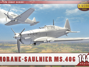 1/144th - Morane-Saulnier Ms.406  in Smooth Fine Detail Plastic