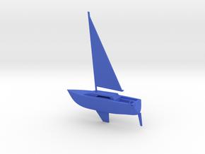 Bob's Boat  in Blue Processed Versatile Plastic