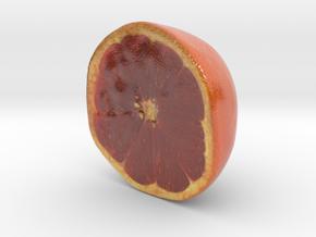 The Grapefruit-Half-mini in Glossy Full Color Sandstone