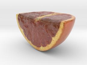 The Grapefruit-Quarter-mini in Coated Full Color Sandstone