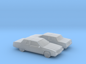 1/160 2X  1991 Cadillac Fleetwood Coupe in Smooth Fine Detail Plastic