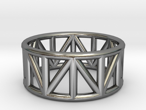 Truss Ring 1.6mm in Polished Silver