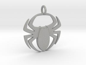 Spider Pendant in Aluminum