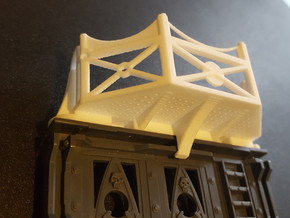 Hive Balcony V1 in White Natural Versatile Plastic