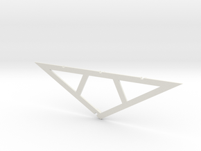 Bungelow  Rafter #1 in White Natural Versatile Plastic