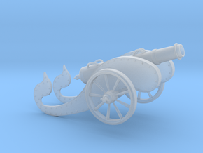 Ancient Cannon   in Smooth Fine Detail Plastic