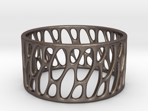 Framework Ring- Basic Intrincate Smooth in Stainless Steel